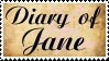 Stamp: Diary of Jane by Confusion-Delusion