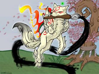 Okami Contest entry by KiRAWRa