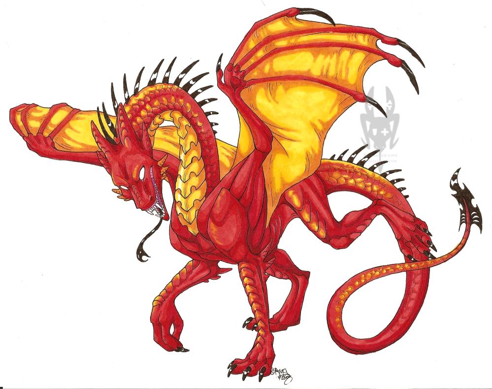 BAMF Dragon by KiRAWRa