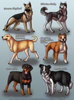 Simdogs 1 by KiRAWRa