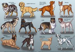 BSK Dogs 2 by KiRAWRa