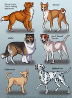 OLD - Dog Pets 5 by KiRAWRa