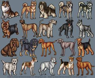 Plush Dogs 8 by KiRAWRa