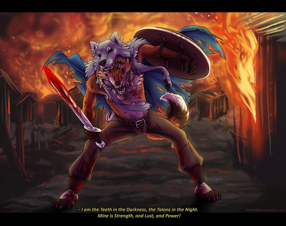 I am Ripper! Tearer! Slasher! Gouger! by KiRAWRa