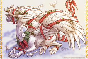 Merry Christmas 2013 by KiRAWRa
