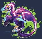 Dinosaurs are Radioactive! by KiRAWRa
