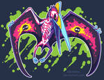 Radioactive Quetzalcoatlus by KiRAWRa