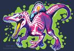 Radioactive Spinosaurus by KiRAWRa