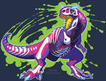 Radioactive Carnotaurus by KiRAWRa