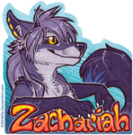 Zachariah Con Badge