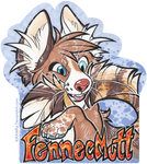 FennecMutt Con Badge