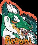 Arashi Con Badge