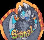 Signal Con Badge