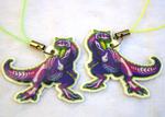 Rad Dinos! Carnotaurus Charm
