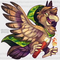 Aywas: [bird noises] by KiRAWRa