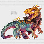 Aywas: Stylish Raptor Oet by KiRAWRa