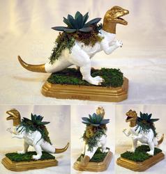 Dilophosaurus Planter Centerpiece by KiRAWRa