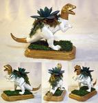 Dilophosaurus Planter Centerpiece
