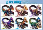 Aywas: Gooraptor Oet Set