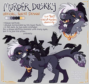 Murder Duskky Official Adopt [SOLD]