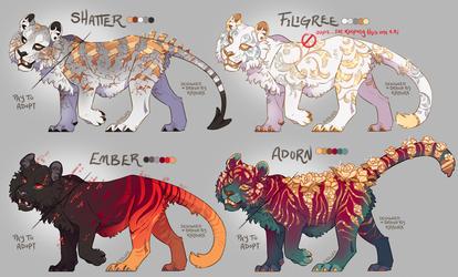 Drops of Gold - Tiger Adopts [CLOSED]