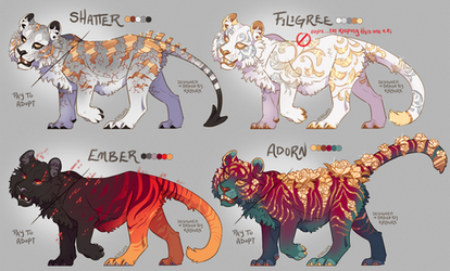 Drops of Gold - Tiger Adopts [OPEN]