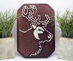 String art: Reindeer
