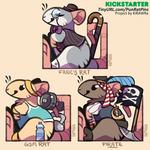More Pun Rats (upcoming Kickstarter!)