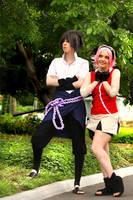 Sasuke and Sakura by haraju2girls
