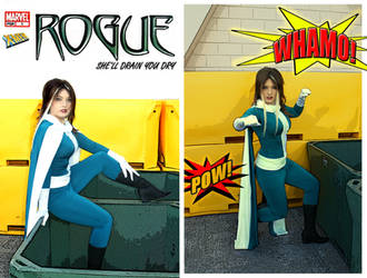 Uncanny X-Men: Rogue by haraju2girls