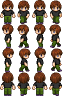 RPG Maker Sprite:JackSkyInTheBox by BlueandDark