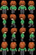 RPG Maker Sprite:Cremesauce14 by BlueandDark