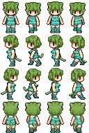 RPG Maker Sprite:Kemonomimi by BlueandDark