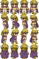RPG Maker Sprite:Knight by BlueandDark