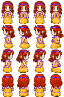 RPG Maker Sprite:Princess by BlueandDark
