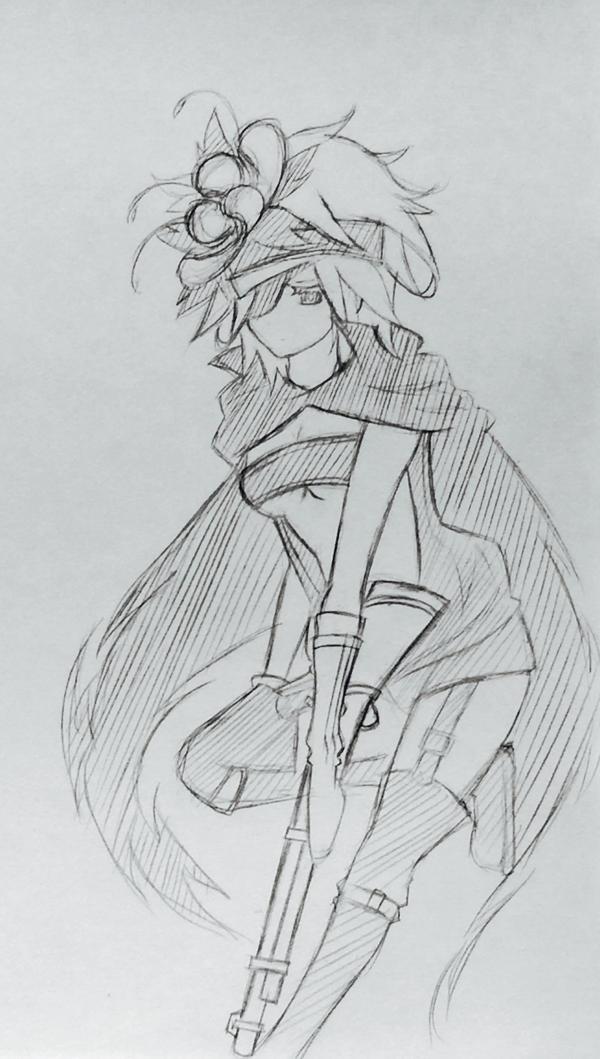 Fremy speeddraw Sketch by TinSeven