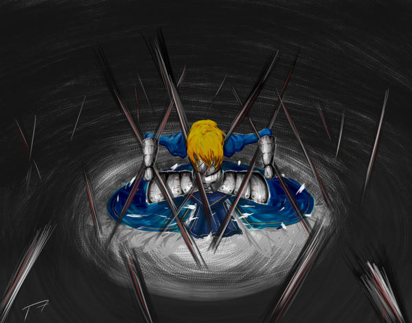 Saber's Last Judgment by TinSeven