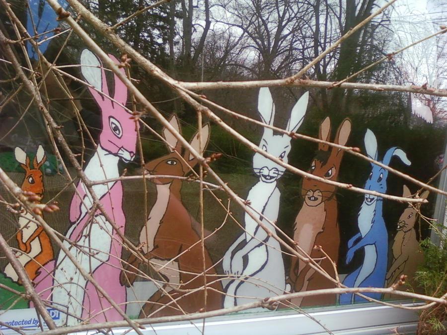 Bunnies For Grandma's Window 1 by ProzacMan