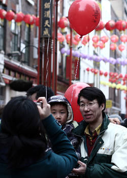 Chinese new year - London.