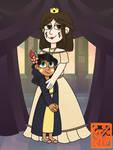 Princess Penumbra Butterfly and Bastard Estrella