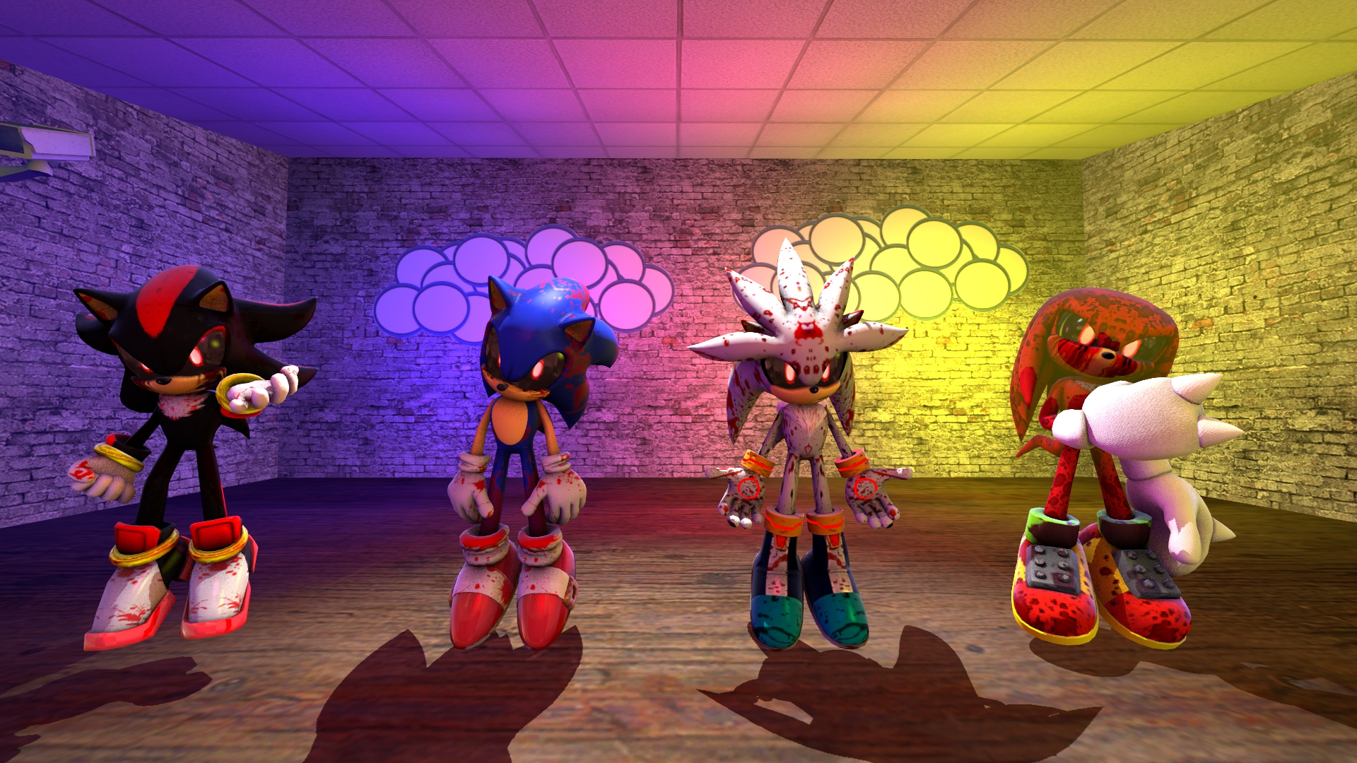 Five Nights At Sonic Exe By S0nic10 On Deviantart