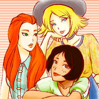 Totally Spies by SkyFreim