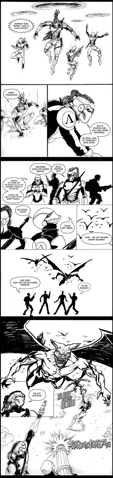 Spartan Team -24 hr comic 2017-