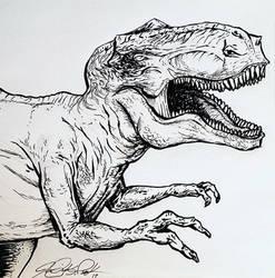 T-rex ink