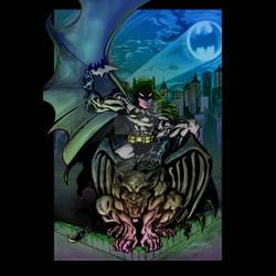Batman over Gotham -variant