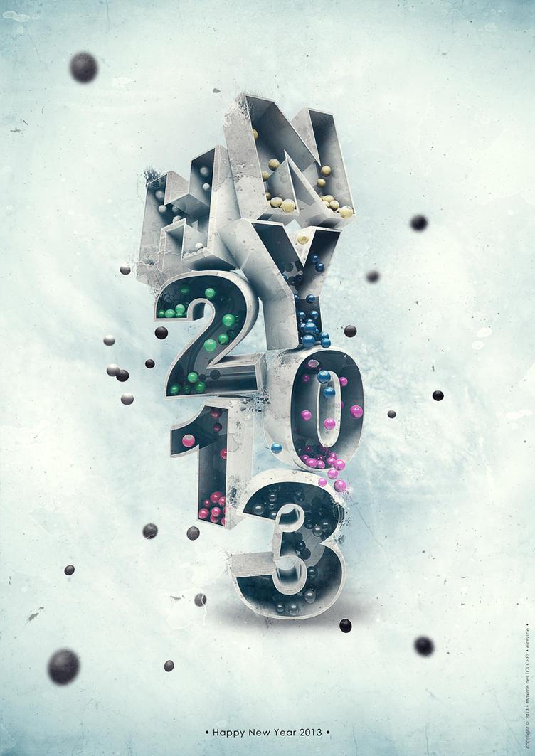HNY 2013 by elreviae