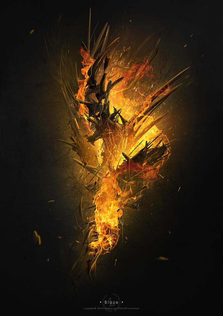 Blaze by elreviae
