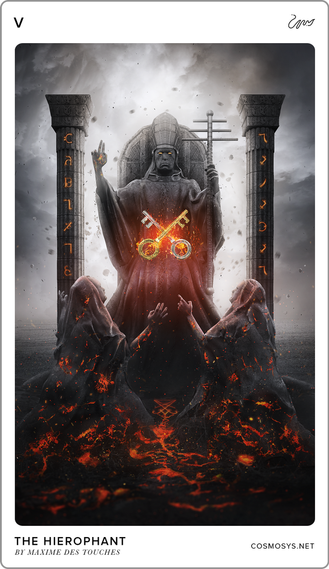 The Hierophant by elreviae