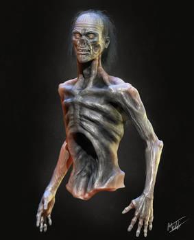 Zombie - Halloween doodle