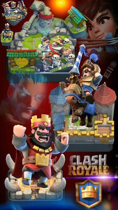 Souvent Fondo de Pantalla CLASH ROYALE by Eli21Perez on DeviantArt AE03